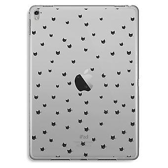iPad Pro 9,7 tommers gjennomsiktig sak (myk) - små kattene