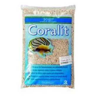 Hobby Coralit (Coral Coarse Sand) 3Kg. (Fish , Decoration , Gravel & sand)