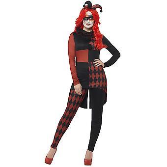 Kobiety stroje złowrogie joker kostium dla pań