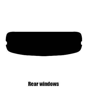 """قبل قص صبغة نافذة-""""كرايسلر كروس فاير كابريو""""-2004 إلى 2008-windows خلفي"""