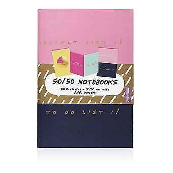 Set of 3 Novelty Notebooks NPW Gifts