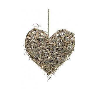 Tobs Pre Lit Led Heart Decoration