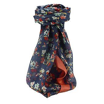 Mulberry Silk Contemporary Quadrat Schal Floral F209 von Pashmina & Seide