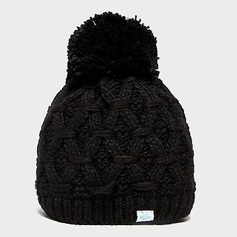 New Peter Storm Women's Sapphire Bobble Hat Black