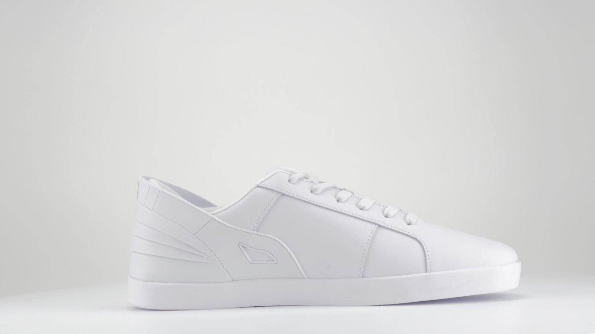 Triesti Designer Leather Sneakers -Single Colour