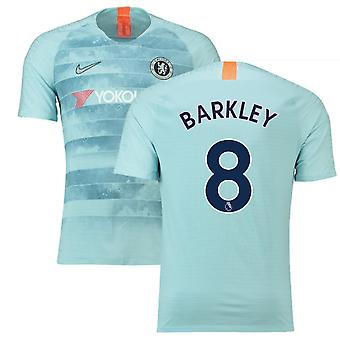 2018-19 Chelsea Third Football Shirt (Barkley 8) - Kids