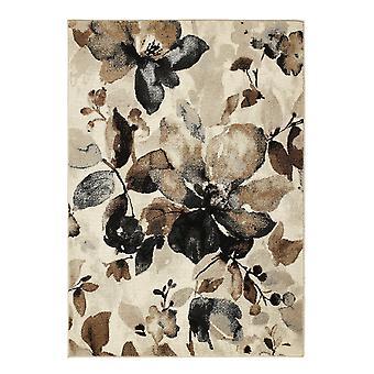Aquarel bloemen Beige rechthoek tapijten moderne tapijten