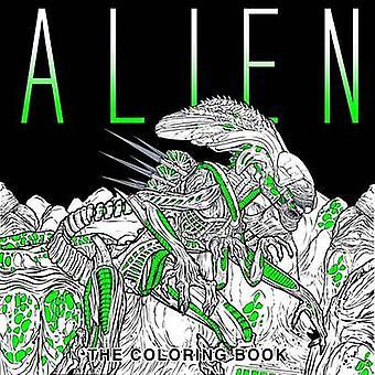 Alien - Värityskirja Titan Books - 9781785653766 Kirja