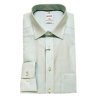 OLYMP Shirt 1012 34 41 Aqua