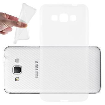 Custodia Cadorabo per Samsung Galaxy GRAND 3 Case Cover - Flessibile Custodia in silicone TPU Ultra Slim Soft Retro Copriurper