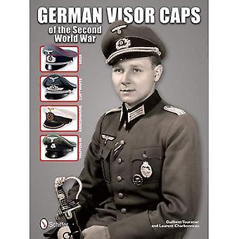 Duitse Visor Caps van de Tweede Wereldoorlog