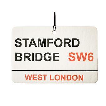 Chelsea Stamford Bridge Street rejestrowanie samochodowa zawieszka zapachowa