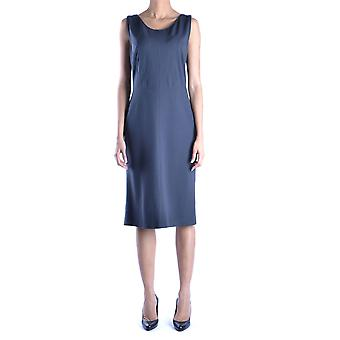 Armani Collezioni Ezbc049060 Women's Grey Viscose Dress