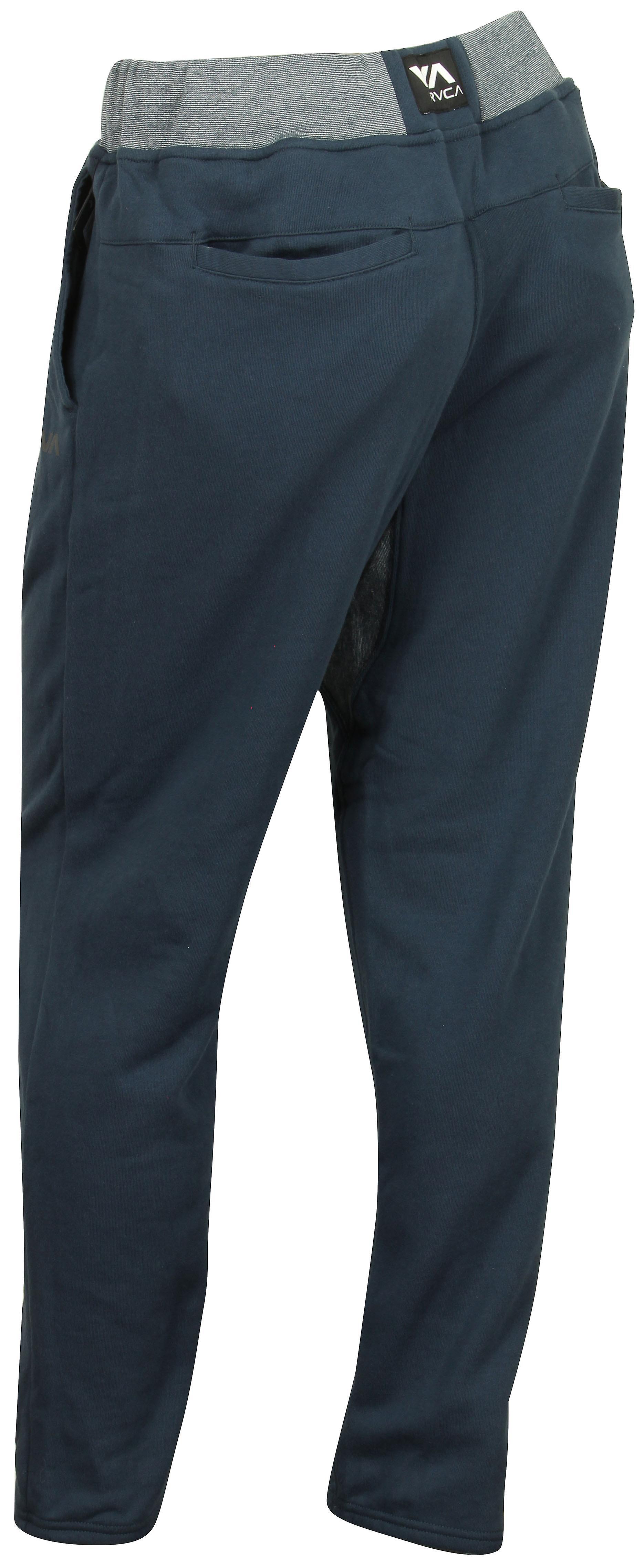RVCA Mens VA Sport Escobar Sweat Pants - Navy/Gray