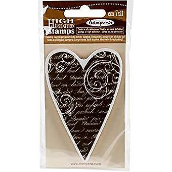 Stamperia Natural Rubber Stamp Heart