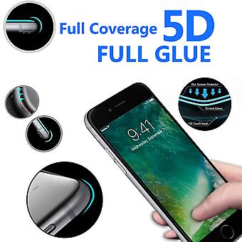 For Apple iPhone 6 Plus - 5D Curve Edge Full Coverage 9H Hardness Tempered Glass (1 Pack) by i-Tronixs