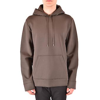 Neil Barrett Ezbc058072 Men's Green Viscose Sweatshirt