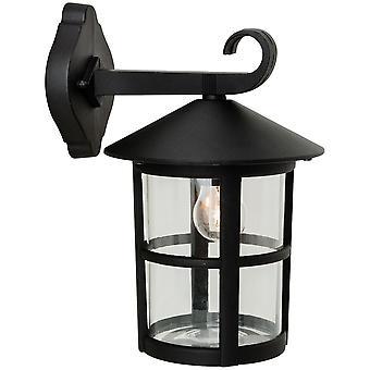 Firstlight-1 luz de pared al aire libre linterna-Downlight negro IP44-2356BK