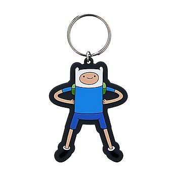 Adventure Time Finn Flexible Keyring