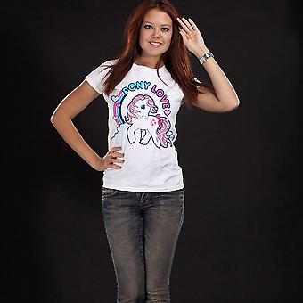 Women's My Little Pony Pony Love White T-Shirt