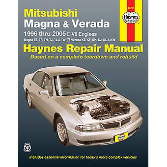 Mitsubishi Magna Automotive Repair Manual - 1996-2005 by Anon - Jeff K