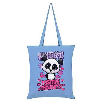 Handa Panda positive tanker tote bag