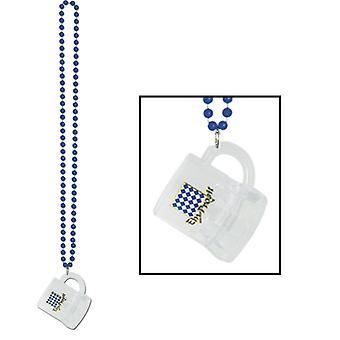 Oktoberfest Beads Halskette mit Becher