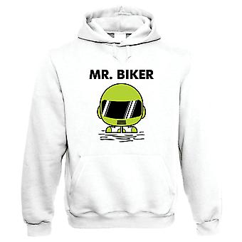 Mr Biker Mens Funny Hoodie - Motorbikes Gift Him Her Birthday