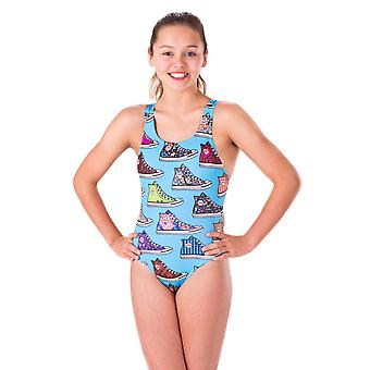 Maru High Top Pacer Auto Back Swimwear For Girls