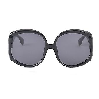 Le Specs Illumination Black Square Sunglasses