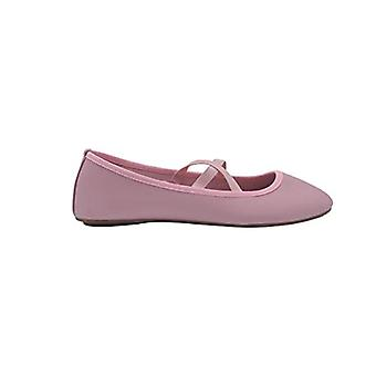 dELiAs hyvät Ballet Flats slip on kengät elastinen hihnat