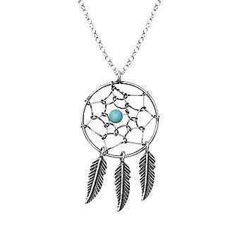 Dream Catcher - 925 Sterling Silber jeweled Halsketten - W36223x