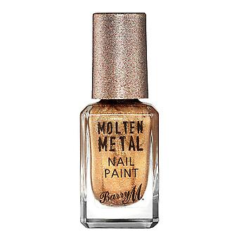Barry M Molten Metal Nail Paint - Bronze Bae