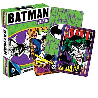 Playing Card - DC Comics - Batman Villains Poker Licensed Gifts Toys 52265