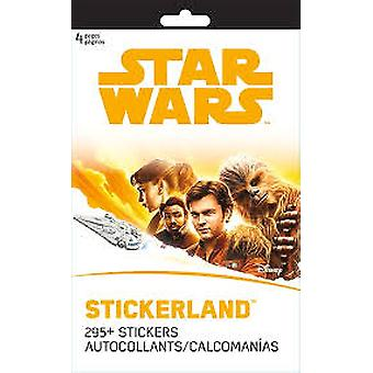 Stickerland Pad - 4 pages - Star Wars Han Solo New st3115