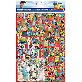 Toy Story Mega Sticker Pack 150st Återanvändbara Klistermärken