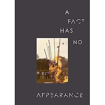 Um fato não tem nenhuma aparência
