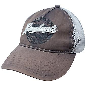 Leinenkugel Brown Distressed Trucker Hat