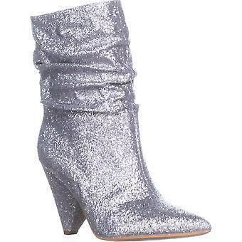Guess Womens Nakitta Fabric Pointed Toe Mid-Calf Fashion Boots