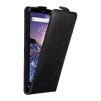 Futerał Cadorabo do obudowy Nokia 7 PLUS - obudowa na telefon w klapce z magnetycznym zapięciem - Pokrywa obudowy Etui ochronne Book Folding Style