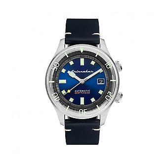Spinnaker - Wristwatch - Men - Bradner cuir - SP-5062-03 - Noir