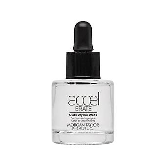 Morgan Taylor AccelErate Quick Dry Protective Coating 60 Second Nail Drops 9ml