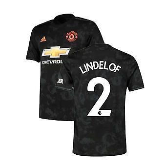 2019-2020 Man Utd Adidas Third Football Shirt (LINDELOF 2)