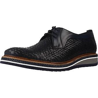 Angel Infantes Zapatos De Vestir Zapato Rejilla Color Marino