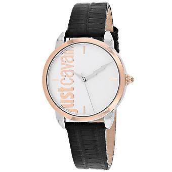 Just Cavalli Women's Tenue Silver Dial Watch - JC1L079L0035