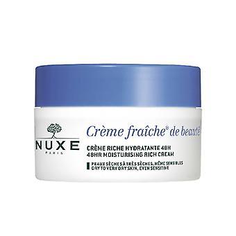 Nuxe Creme Fraiche 48H Moisturising Rich Cream 50ml