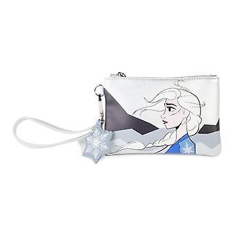 Disney Frozen 2 Elsa glidelås mynt veske med Armbånds stropp kvinnelig hvit MW646620DNY