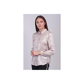 Saint Tropez Woven Metallic Shirt