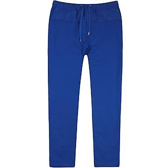 Kenzo Nylon Patch Joggers Blue