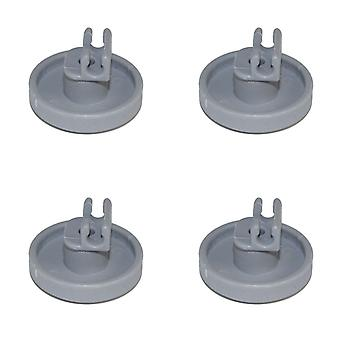 Dishwasher Lower Basket Wheel For Miele x 4